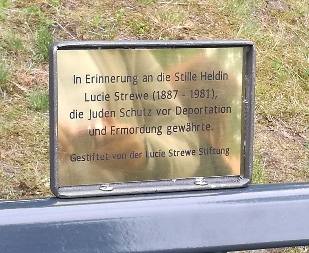 Lucie Strewe Infotafel